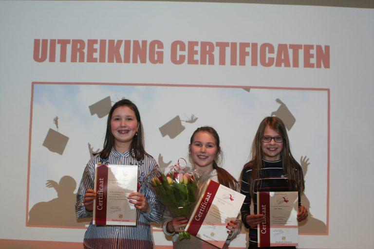 Uitreiking certificaten Pre-vwo febr 2018 (15)